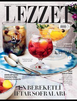 Lezzet Dergisi Mayıs Sayısı