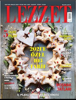 Lezzet Dergisi Aralık-Ocak Sayısı