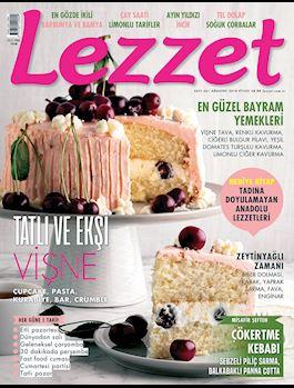 Lezzet Dergisi Ağustos Sayısı