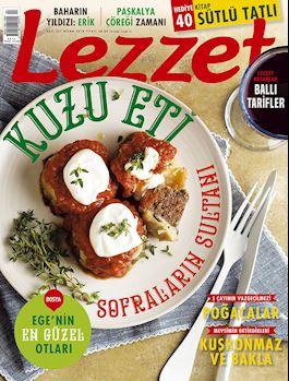 Lezzet Dergisi Nisan Sayısı