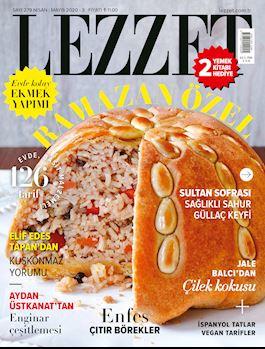 Lezzet Dergisi Nisan-Mayıs Sayısı