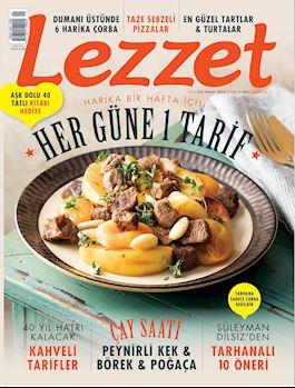 Lezzet Dergisi Şubat Sayısı