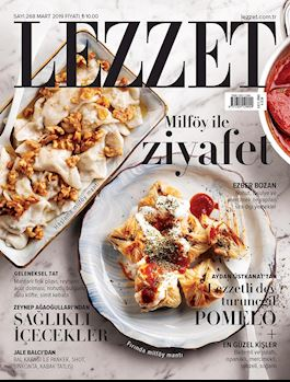 Lezzet Dergisi Mart Sayısı