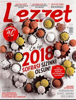 Lezzet Dergisi Aralık Sayısı
