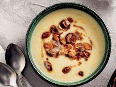 Badem çorbası