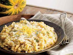 Balkabaklı risotto