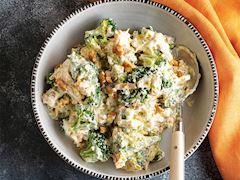 Cevizli brokoli mezesi