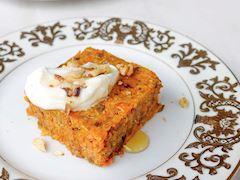 Çiğ havuçlu kek (Şekersiz, glütensiz)