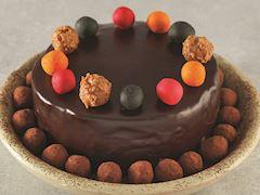 Çikolatalı bonbon pasta