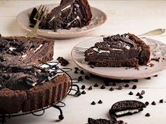 Çikolatalı pişmeyen tart