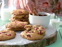 Çilekli kurabiye