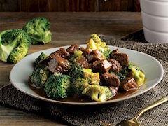 Dana kuşbaşı etli brokoli