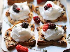 Dutlu milföy muffin