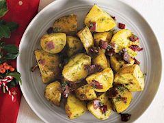 Fırında muskatlı patates