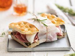 Focaccia sandviç