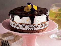 Haşhaşlı çikolatalı mini cheesecake