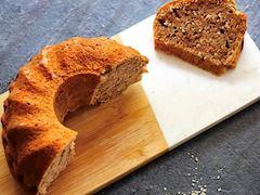 Havuçlu cevizli kek