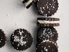 Hindistan cevizi ve çikolatalı bisküvi