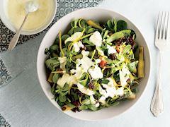 Hurmalı semizotu salatası