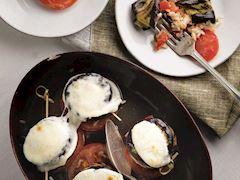 İtalyan usulü pirinçli patlıcan