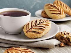 Kestaneli yaprak kurabiye