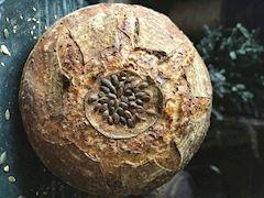 Keten tohumlu, kabak çekirdekli ekmek
