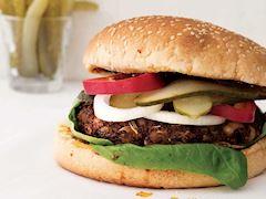 Kinoa köfteli hamburger