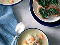 Kinoalı balık çorbası