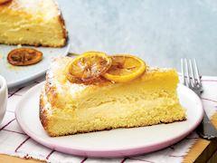 Limon kremalı kek