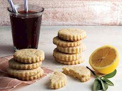 Limonlu adaçaylı kurabiye