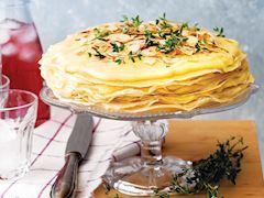 Limonlu krep pasta