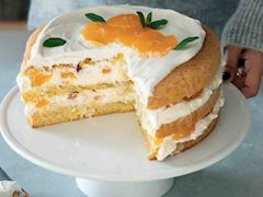 Mandalinalı pasta