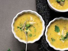Meyaneli balık çorbası