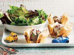 Muffin köfteler