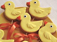 Ördekli kurabiye