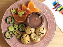 Parça çikolatalı top kurabiyeli