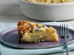 Patlıcanlı kolay börek
