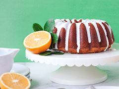 Portakallı Kek