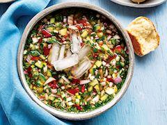 Soğuk salata çorbası