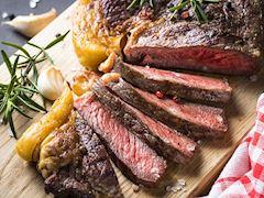 Steak and Paris Mash