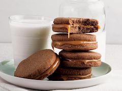 Tarçınlı ve süt reçelli kurabiye
