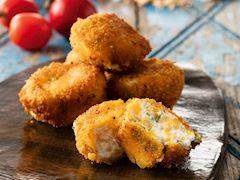 Tarhanalı peynir topları