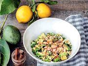 Osmaniye yer fıstığı ile avokado salatası