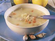 Terbiyelipalamut çorbası