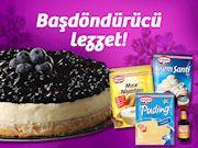 Blueberry'li Pasta'nın lezzeti baş döndürüyor
