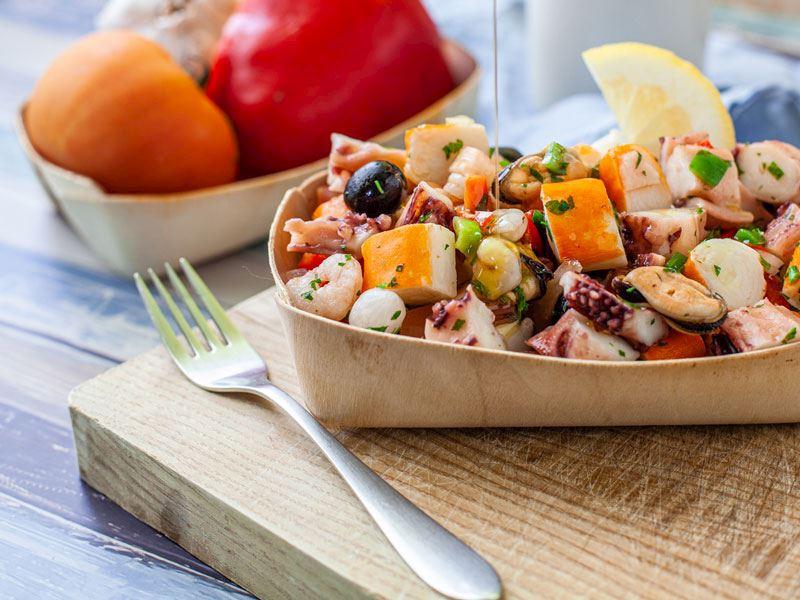 Ahtapotlu Teke Salatası