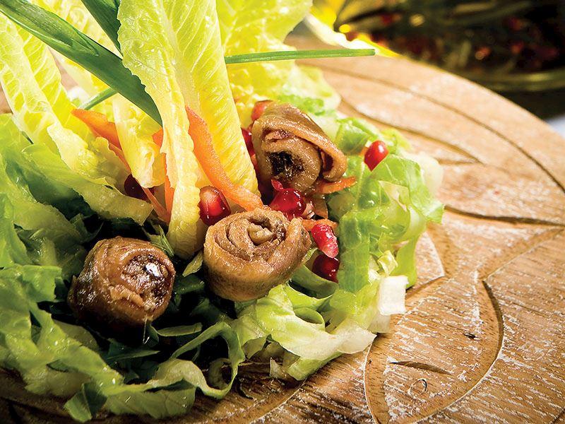 Ançuezli Yeşil Salata