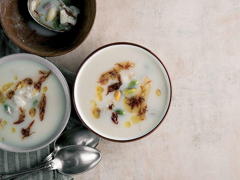 Antep usulü fıstıklı çorba