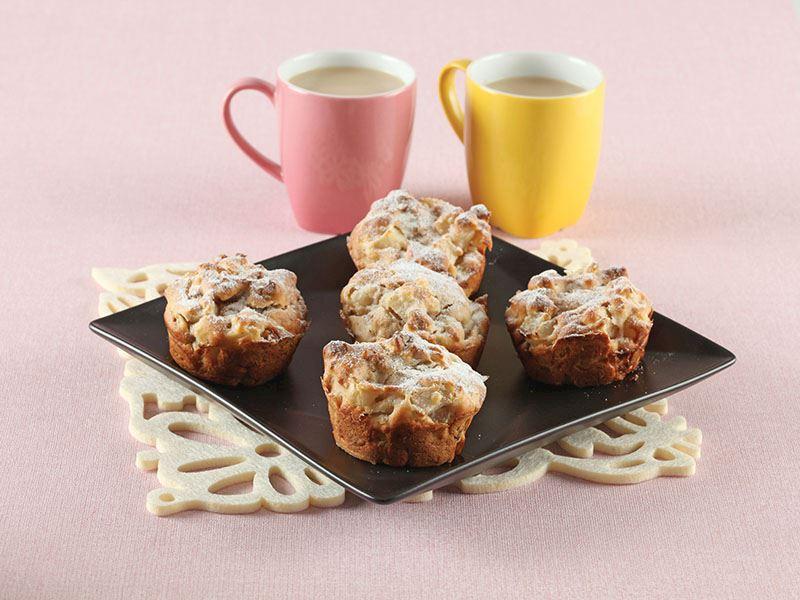 Armutlu Ve Cevizli Muffin