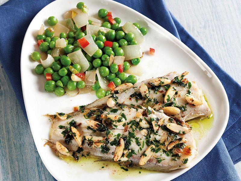 Badem Soslu Dil Balığı